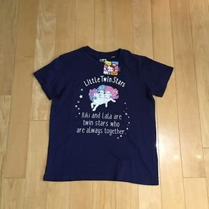 NWT uniqlo little twin star t-shirt